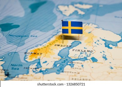 Sweden Old Maps Images, Stock Photos & Vectors | Shutterstock