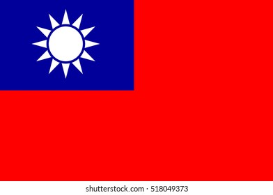 Flag of Taiwan officially the Republic of China is a state in East Asia