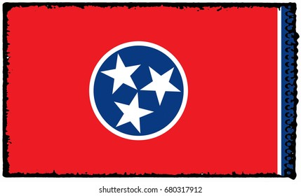 The Flag Of Tennessee