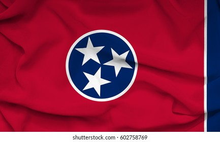 Flag of Tennessee state (USA)