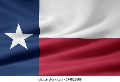 Flag of Texas - USA
