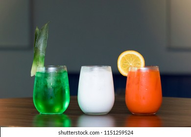 Flag tri Color Mocktails independence Day special Indian