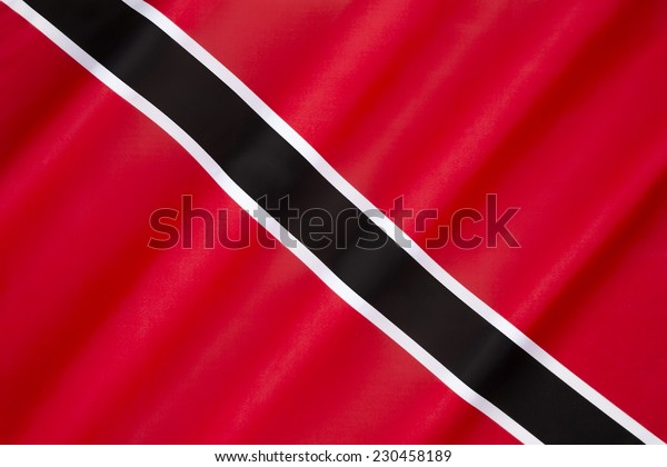 Flag of Trinidad and Tobago - adopted on independence from the United Kingdom on 31st August 1962.