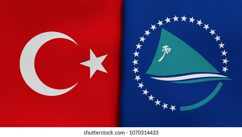 Flag of Turkey and Secretariat of the Pacific Community