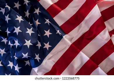 Flag of United States of America as background