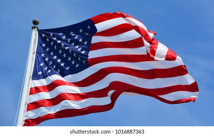The flag of the United States of America, often referred to as the American flag, is the national flag of the United States.