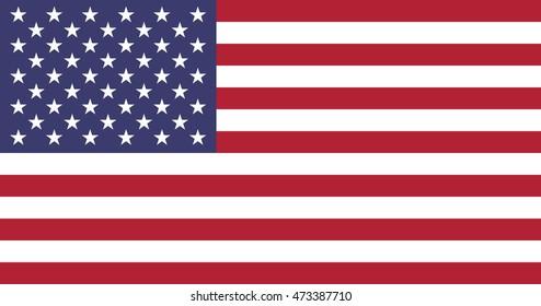 The Flag of United States of America (USA) - very big image (illustration)