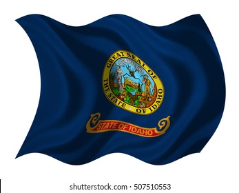 similar images stock photos vectors of flag idaho wind 30577252 rh shutterstock com