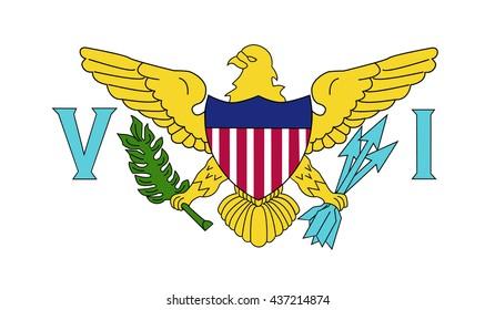 Flag of the U.S. Virgin Islands.