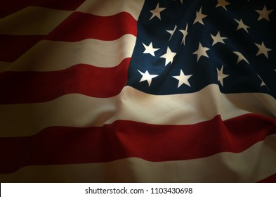 Flag USA background