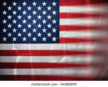 Flag USA, backgrounds, textures, blurred image