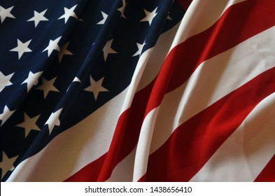 Flag USA as a patriotic background