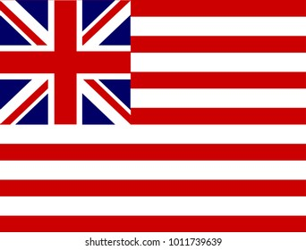 Flag as used by the United States Grand Union