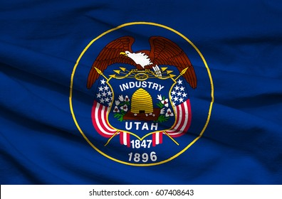 Flag of Utah state (USA)