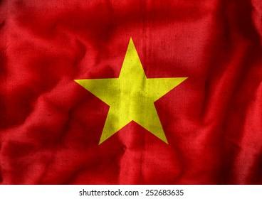 Flag of Vietnam themes idea design