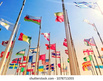 Flags of different Nations
