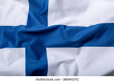 Flags of the Finland.