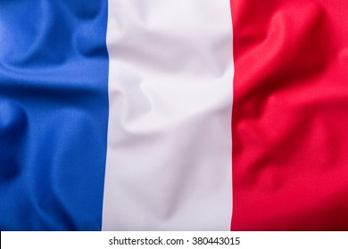 Flags of the France.