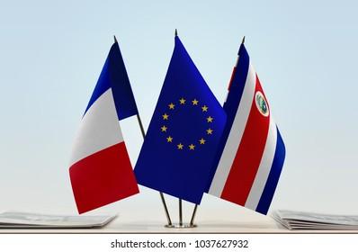 75fb0c4564 Croatian European Flags Waiving Air Blue Stock Photo (Edit Now ...