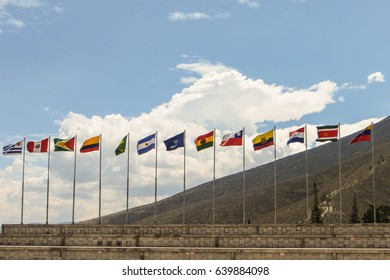 Flags Unasur