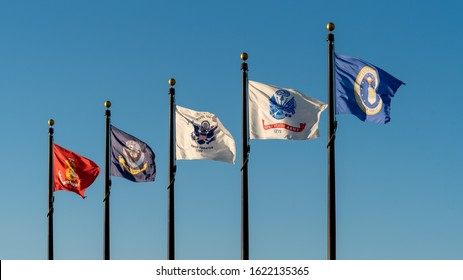 Flags of United States Military Branches