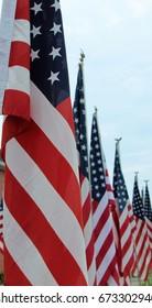 flags usa - Shutterstock ID 673302940