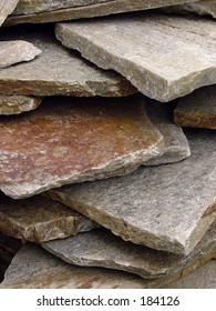 Flagstone Stacked