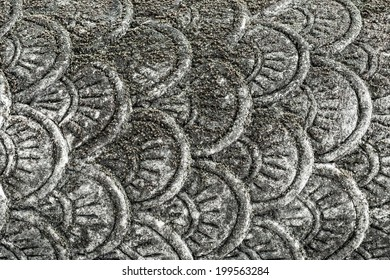 flake serpent , Art temple in Thailand