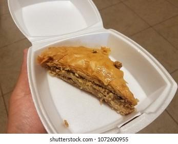 flaky dessert baklava pie