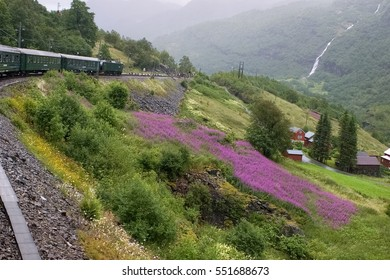 The Flam Railway has been named one of the most beautiful train journeys in the world and is one of the leading tourist attractions in Norway.