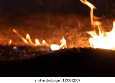 flame dark background