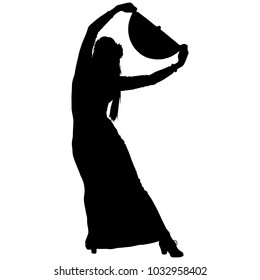 flamenco dancer with a fan