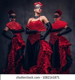 Adult costume seduction spanish