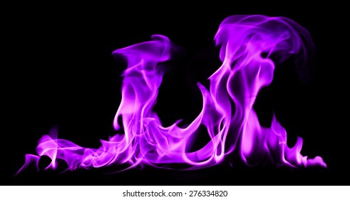 flames purple light abstract background