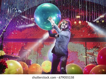 The Flaming Lips performing at The O2 Brixton Academy in London2017_01_21