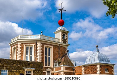 Flamsteed House at Greenwich Observatory - London