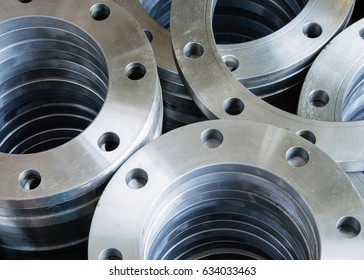 Flanges,welding flange used in industrial water pipes.