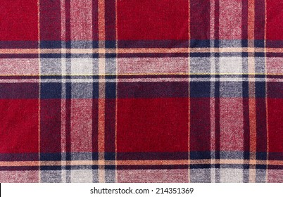 Flannel Fabric Texture