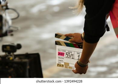 Flap at start of filming