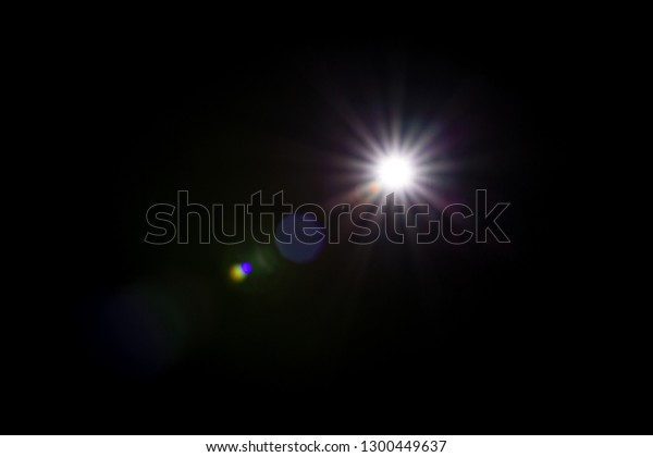 Flash Light Effect Isolated On Transparent Stock Photo (Edit