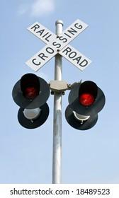 Flashing Railroad Lights