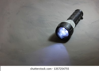 A flashlight or a torch is a portable hand-held electric light.Today, flashlights use mostly incandescent lamps or light-emitting diodes and run on disposable or rechargeable batteries.