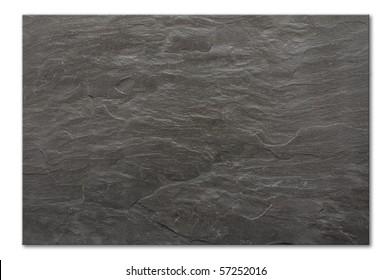 flat background texture of slate floor tile
