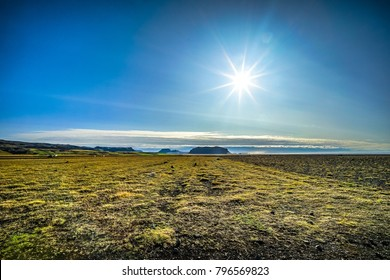 flat land in iceland