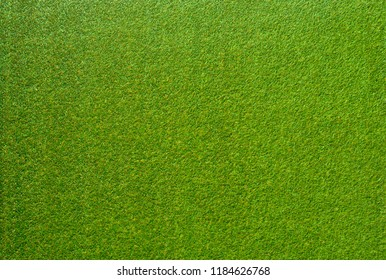 Flat lay Artificial lawn synthetic turf Artficial grass texture background