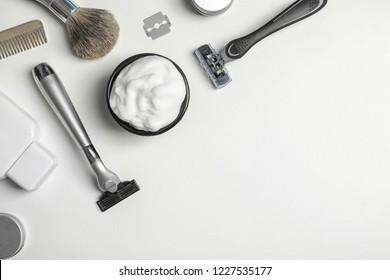 Imágenes, fotos de stock y vectores sobre Mens Shaving Brush
