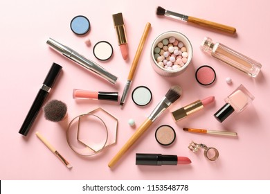 Makeup Items Stock Photos, Images \u0026 Photography