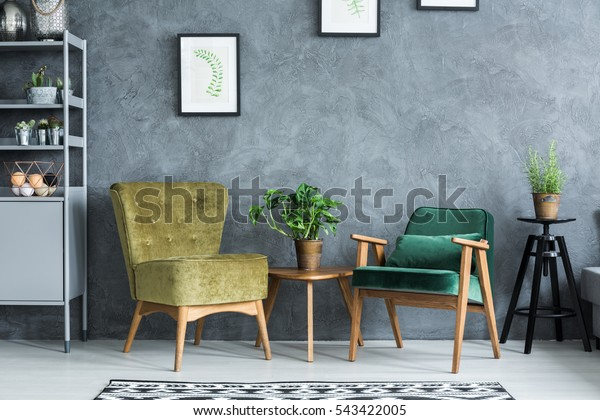 Flat with modern and stylish furniture