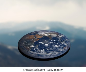 flat planet earth conspiracy theory