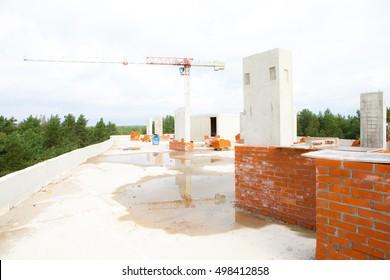 Roof Concrete Slab Images Stock Photos Vectors Shutterstock